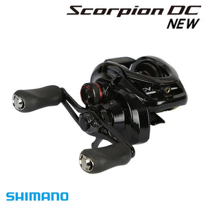 Shimano Original  Scorpion  DC 100 101 100HG 101HG Baitcasting Fishing Reel 215g 7+1BB 5.5kg I-DC5 X-SHIP Saltwater Fishing Reel
