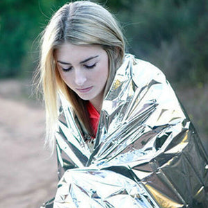 Outdoor Camping Waterproof Emergency Rescue Blanket