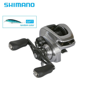 2018 Newest Shimano Original BANTAM MGL CORESOILID BODY Low Profile Baitcasting Reel Fishing Reel 8+1BB Fishing Reel