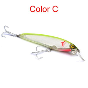 New fishing lures minnow fish bait 19g 12cm