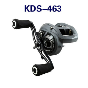 OKUMA Baitcasting Reel All-aluminum Alloy 8BB 6.3:1 Bearing Fast Speed Line Winder Wire Spooler Slow Jigging Coil Baitcast Reel