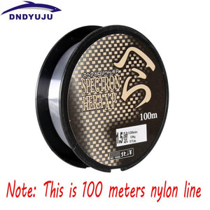 DNDYUJU 500M Nylon Fishing Line Japanese Durable Monofilament Rock Sea Fishing Line Thread Bulk Spool All Size 0.4 To 8.0
