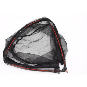 Aluminum Alloy Retractable Fishing Net Telescoping Foldable Landing Net Pole Folding Landing Net for Fly Fishing