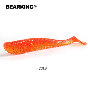 BEARKING Awaruna 5cm 8cm 9.5cm 11cm Fishing Lures soft lure Artificial Bait Predator Tackle JERKBAIT for pike and bass