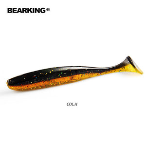 BEARKING Easy Shiner 5cm 7.5cm 10cm Wobblers  for 2019 Hot Carp Fishing Soft Lures Silicone Artificial Double Color Baits