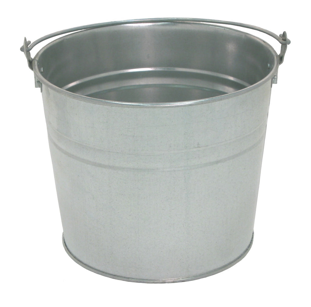 standard water pails great west metal