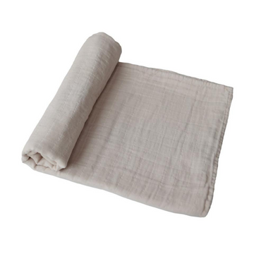 Fog Organic Cotton Muslin Swaddle Blanket [Last One]