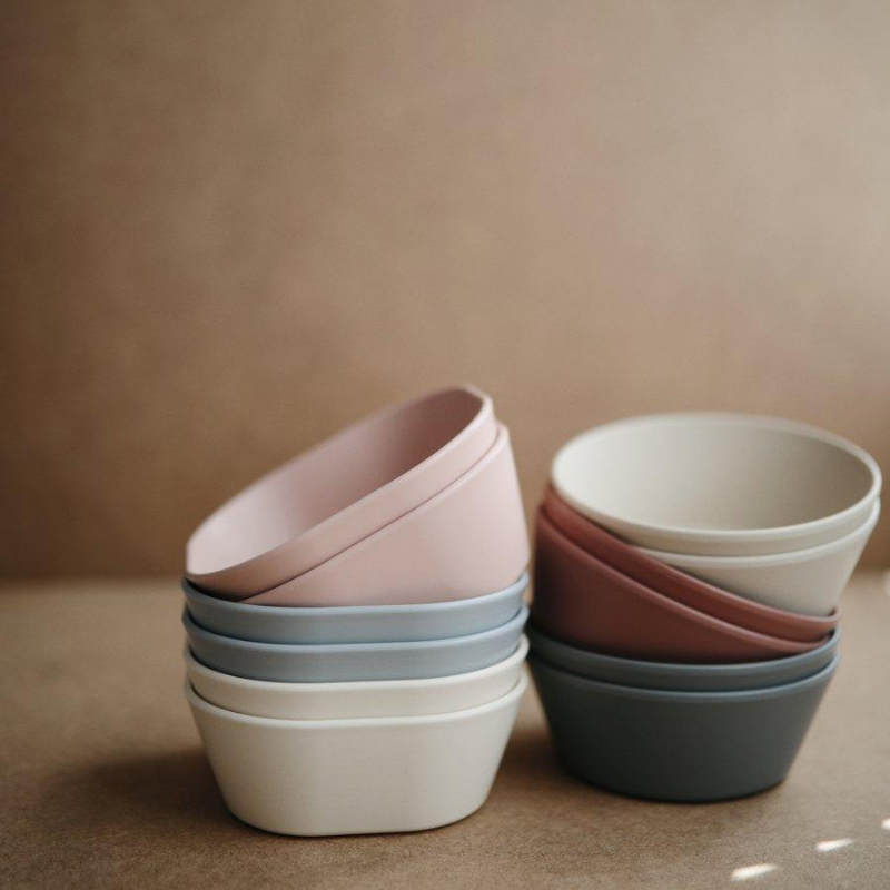 Blush Square Dinnerware Bowl - Set of 2