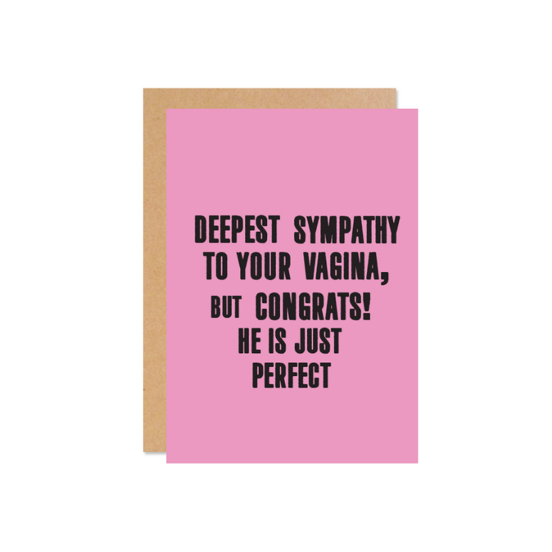 Deepest Sympathy (He) Card