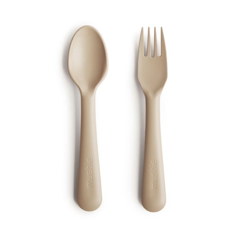 Vanilla Fork and Spoon Set