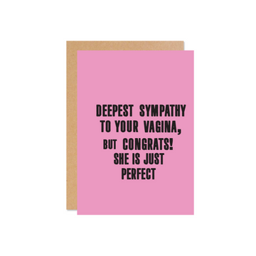 Deepest Sympathy (She) Card