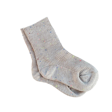 Tan Sprinkle Socks