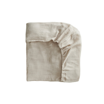 Fog Extra Soft Muslin Crib Sheet