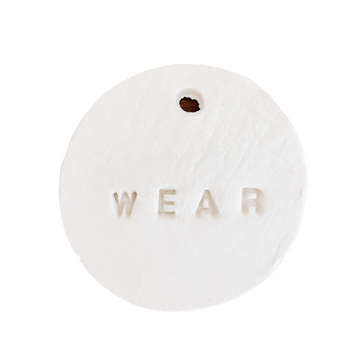 'Wear' Clay Tag