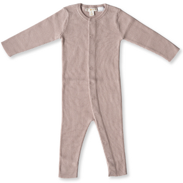 Rose Ribbed Essential Jumpsuit
