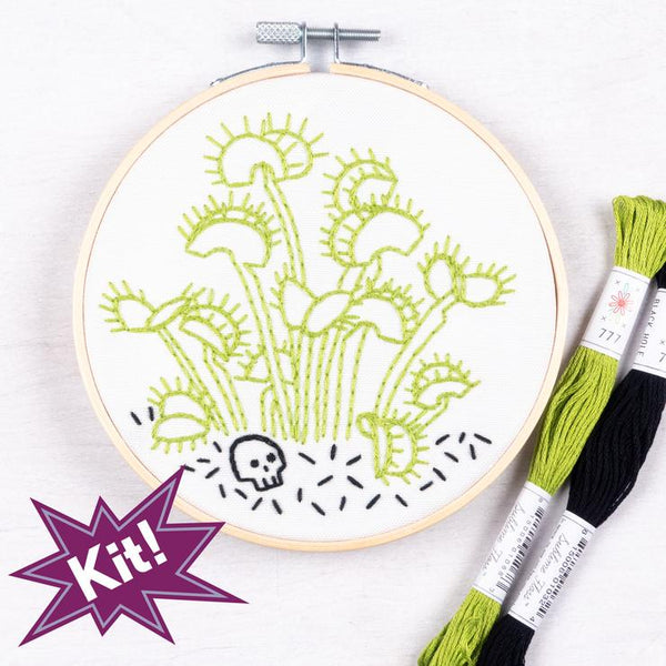 Deadly Darlings Embroidery Kit