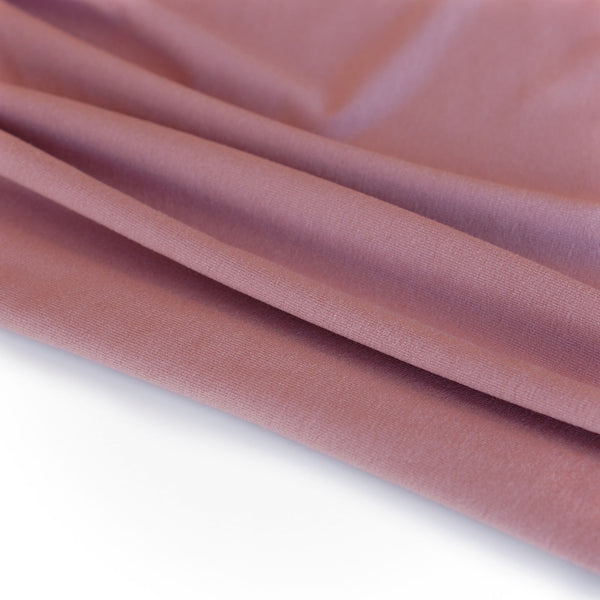 1/2M Bamboo Jersey in Dark Rose