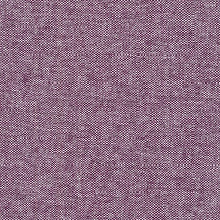 1/2M Essex Yard Dyed Linen in Eggplant