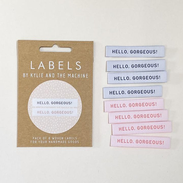 'Hello Gorgeous!' Labels 8-pack
