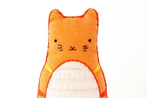 Tabby Cat Embroidery Kit