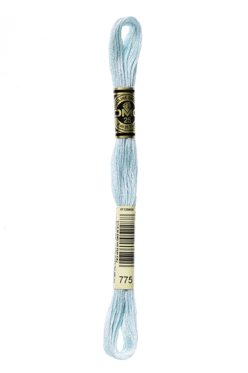 DMC Embroidery Floss 8M (775 Very Light Baby Blue)