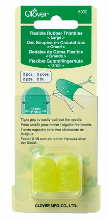 Flexible Rubber Thimble Large