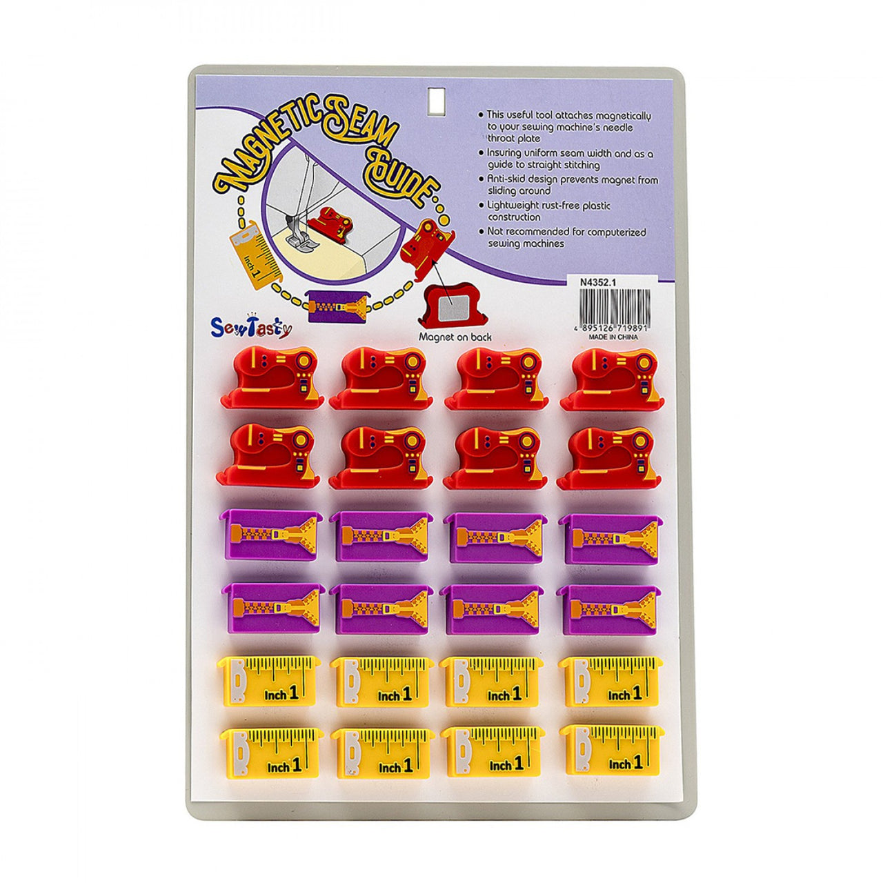 Magnetic Seam Guide - Assorted