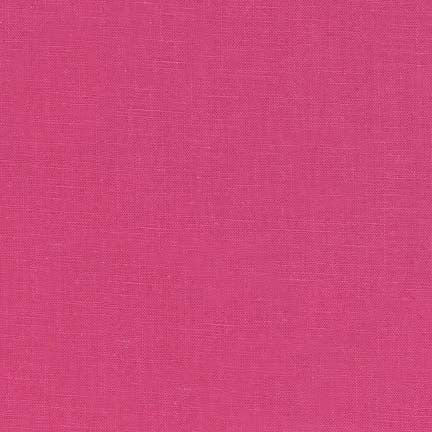 1/2M Essex Linen in Hot Pink