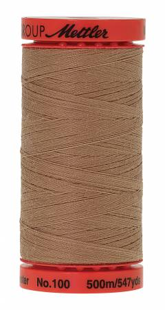 Metrosene Poly Thread 50wt 500m/547yds Caramel Cream 9145-0285