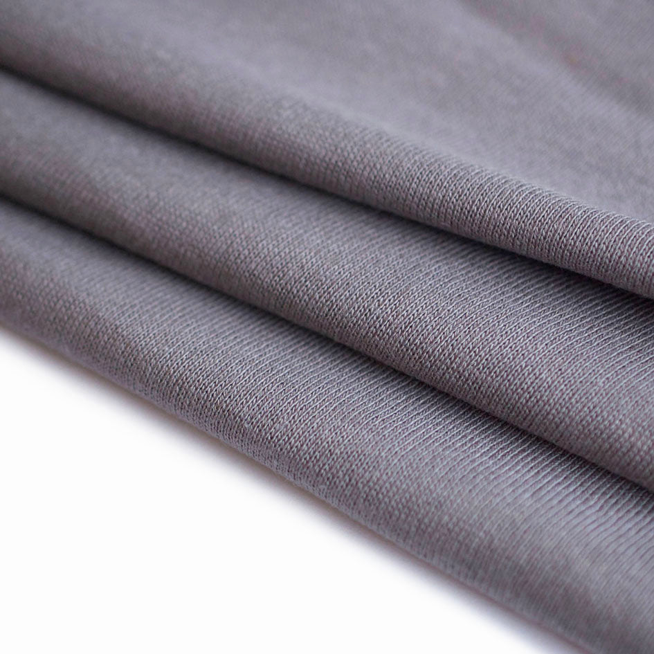 1/2M Bamboo/Cotton Fleece in Stone
