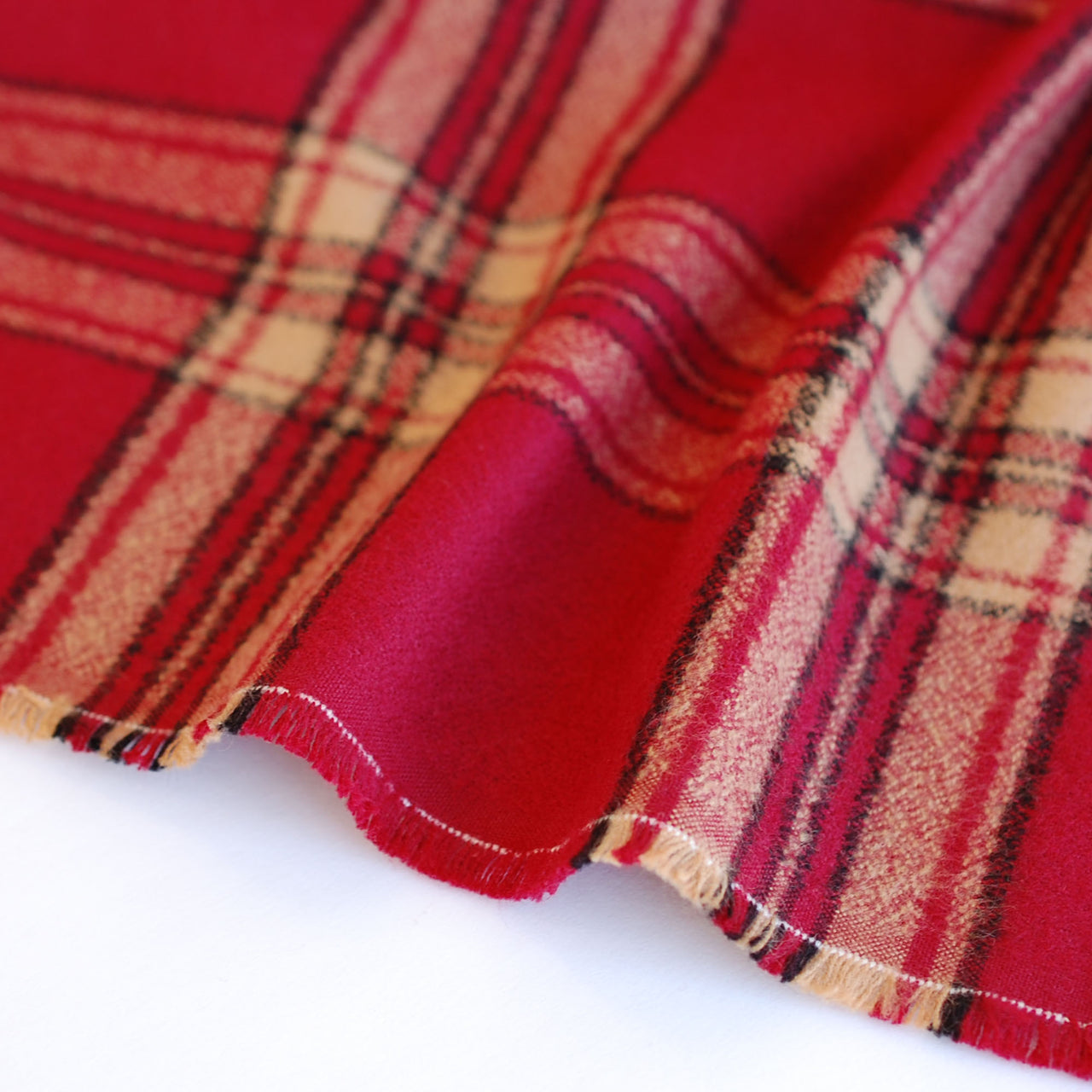 1/2M Mammoth Flannel 18966 in Red