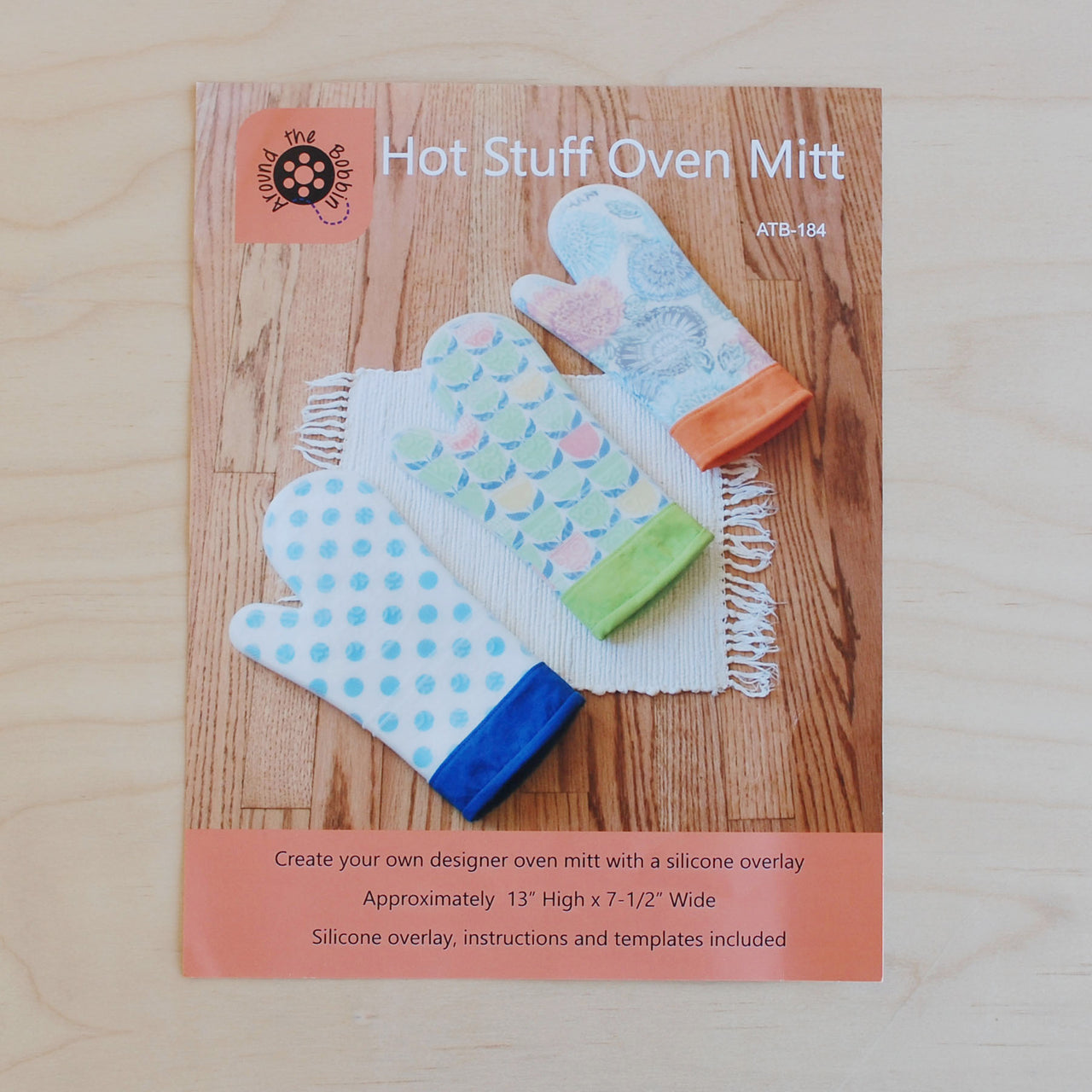 Hot Stuff Oven Mitt Pattern Kit