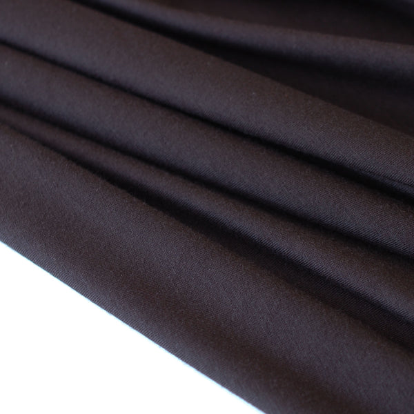 1/2M Cotton/Modal Jersey in Black