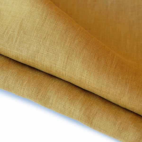 1/2M Polished Linen in Turmeric