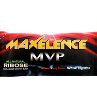 MAXelence MVP Workout Recovery Drink Mix Cherry Individual Sports Packet