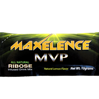 MAXelence MVP Workout Recovery Drink Mix Individual Sports Packet Lemon
