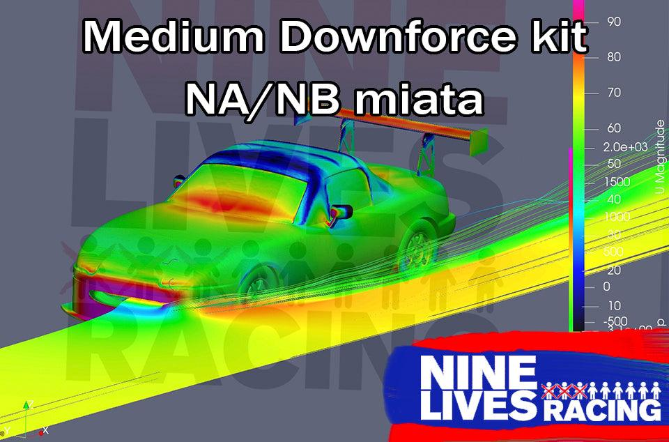 9LR Medium down-force kit for NA/NB Miata