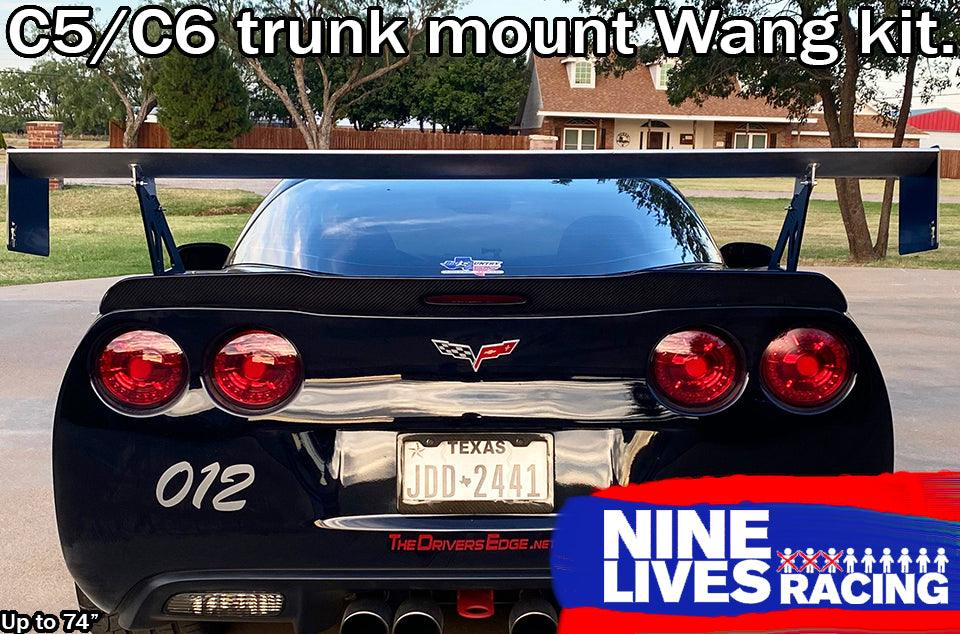 The Big Wáng for C5/C6 Corvette Trunk Mount