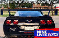 Corvette Big Wang Trunk Mount Kit '97-13 C5/6