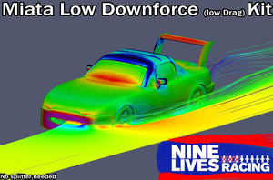 9LR Low down-force kit for NA/NB miata