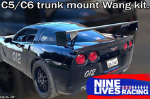 Load image into Gallery viewer, The Big Wáng for C5/C6 Corvette Trunk Mount