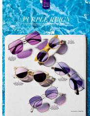 Sama Eyewear in Hollywood Reporter Cooper Sunglasses Federico Sunnies