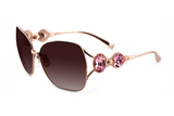 "Heart of Gold - As Seen On Lisa Vanderpump On The Hit Television Show ""Real Housewives Of Beverly Hills"" - SamaEyewearShop.com - 3"