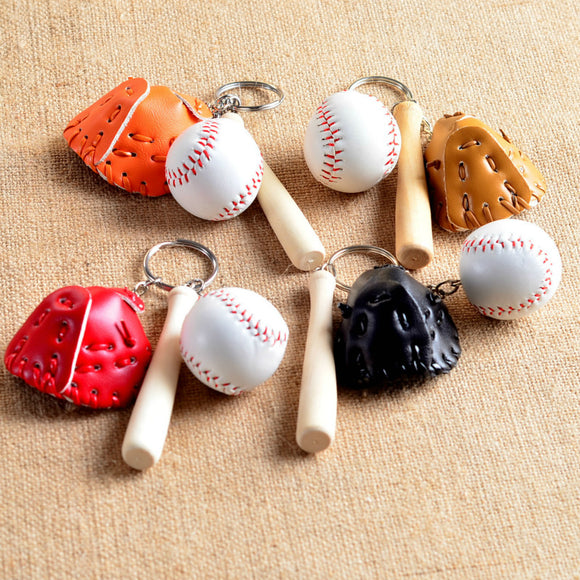 Baseball Glove with Ball Keychain Thank You Party Favors Souvenirs Party Gifts for Guests Baseball Boy Birthday Party Gift Ideas