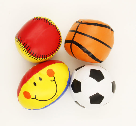Fabric Mini Sports Ball Kids Activities Football Soccer Baseball Basketball Set Sport Themed Party Favor Toy Carnival Prize