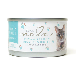 Tuna & Salmon Dinner in Broth Adult Cat Food, 2.8-oz, Case of 12