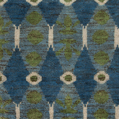 aegean blue rug (wool)