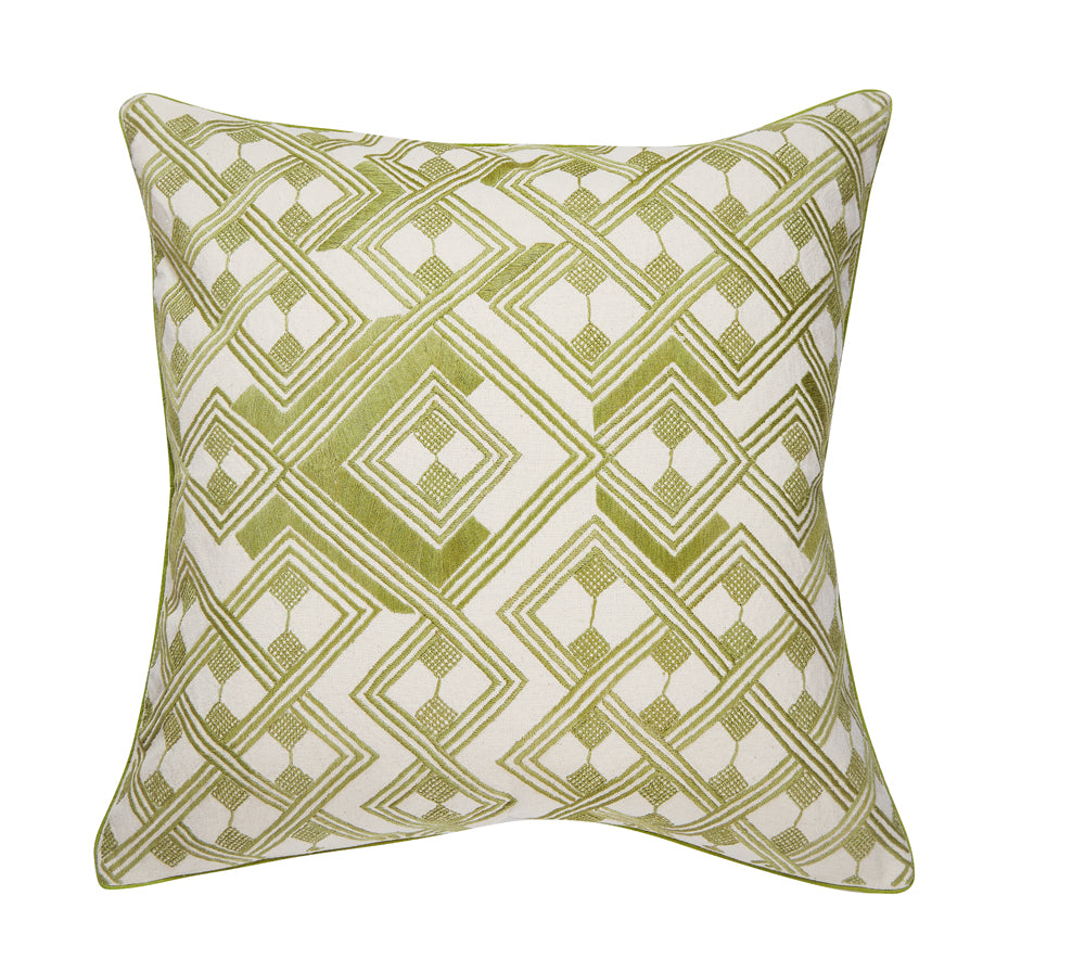 "kasai 20"" pillow (green)"