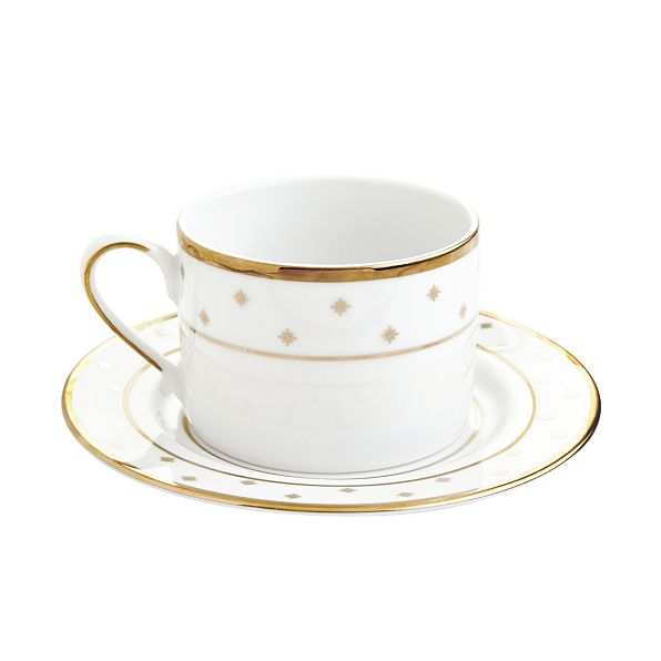 gold star dinnerware collection