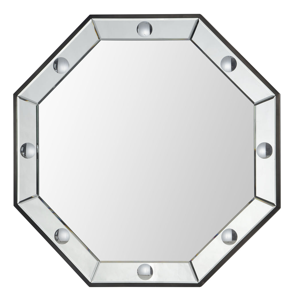 octavia mirror (black nickel)